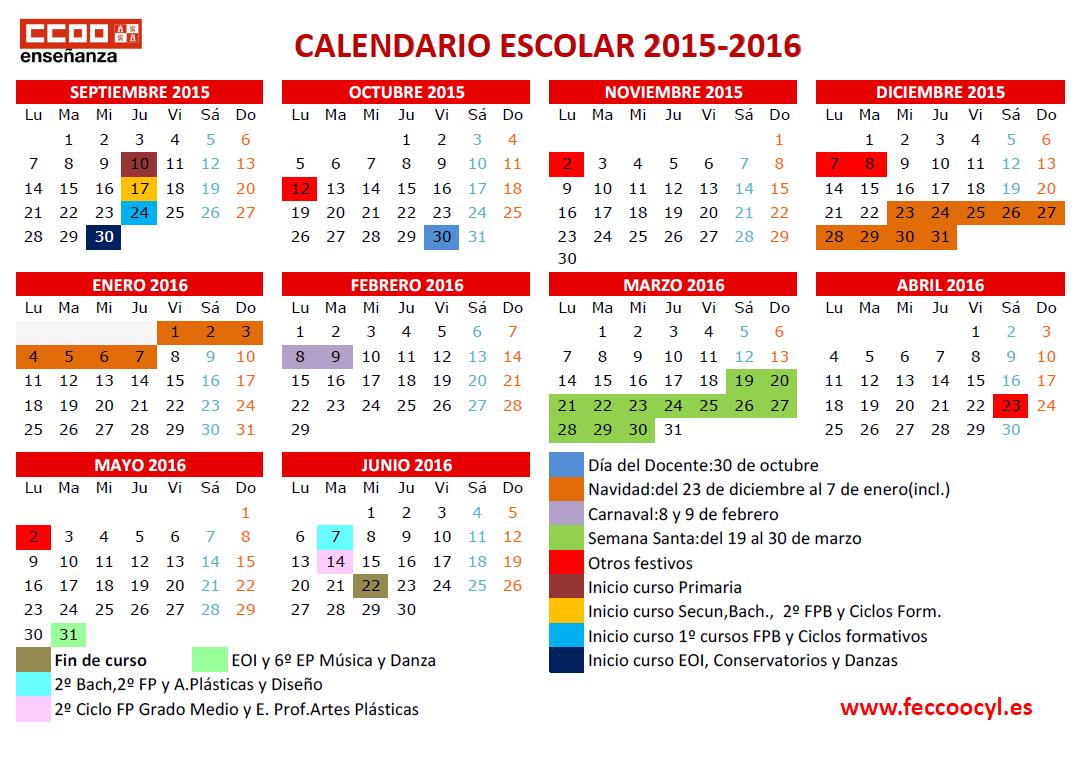 Encantador Plantilla Del Calendario Académico 2014 2015 Bosquejo ...
