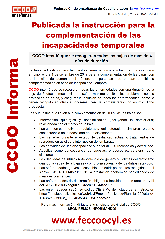 Feccoocyl - Publicada la instrucción para la complementación de las ...
