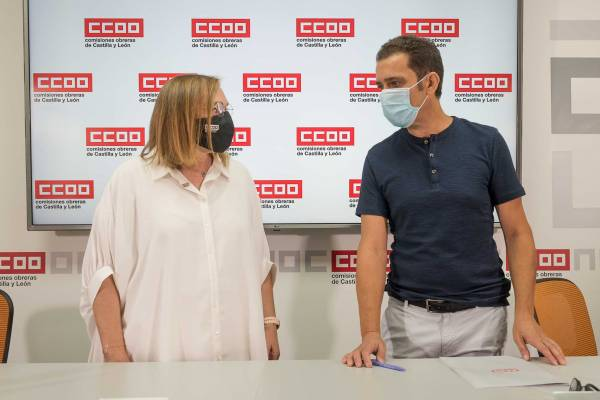Rueda de prensa de CCOO CyL - Valoración inicio del curso escolar en Castilla y León