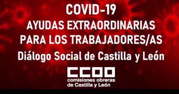 COVID-19 Ayudas extraordinarias para los trabajadores/as   Dialogo Social de Castilla y León